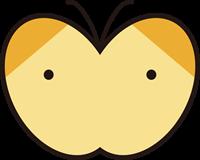 蝶のイラスト①