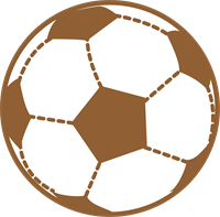 サッカーボールのイラスト②