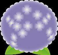 紫陽花のイラスト③