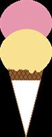 アイスクリームのイラスト