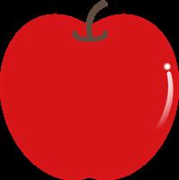 りんごのイラスト①
