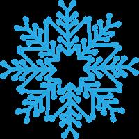 雪の結晶のイラスト②
