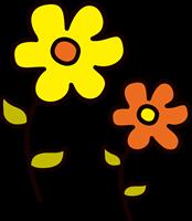 お花のイラスト①