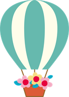 気球のイラスト①