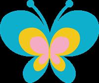 蝶のイラスト④