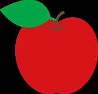 りんごのイラスト②