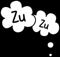 「Zu Zu」の吹き出しスタンプ