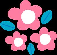 お花のイラスト⑦