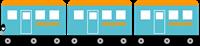 電車の飾り罫②