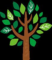 木のイラスト④