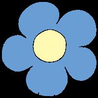 お花のイラスト⑨