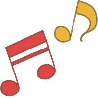 音符のイラスト⑧