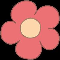 お花のイラスト⑩
