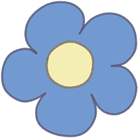 お花のイラスト⑪