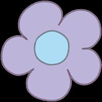 お花のイラスト⑬