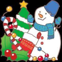 クリスマスのイメージのイラスト