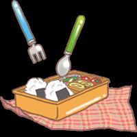 遠足のお弁当のイラスト