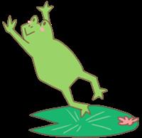 カエルのイラスト④