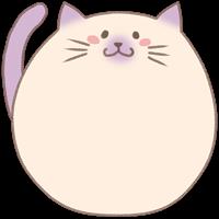 ネコのスタンプ