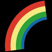 虹のイラスト②