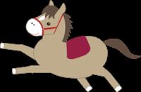 馬のイラスト①