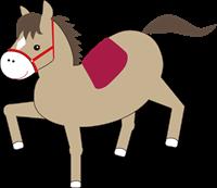 馬のイラスト②