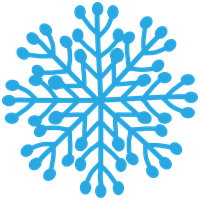 雪の結晶のイラスト③