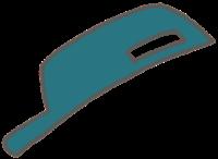 整備士の着せ替えイラスト(帽子)