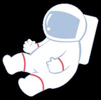 宇宙服のイラスト