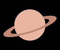 土星のイラスト②