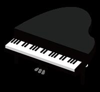 ピアノのイラスト