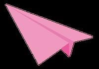 紙飛行機のイラスト④
