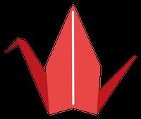 折り鶴(折り紙)5